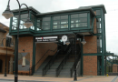 New Pedestrian Overpass and Plaza Now Open at the South Amboy Train Station