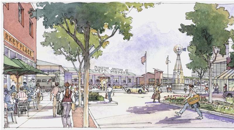 Princeton Junction Station Area Vision Plan