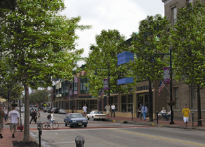 Downtown Collingswood Redevelopment Simulation