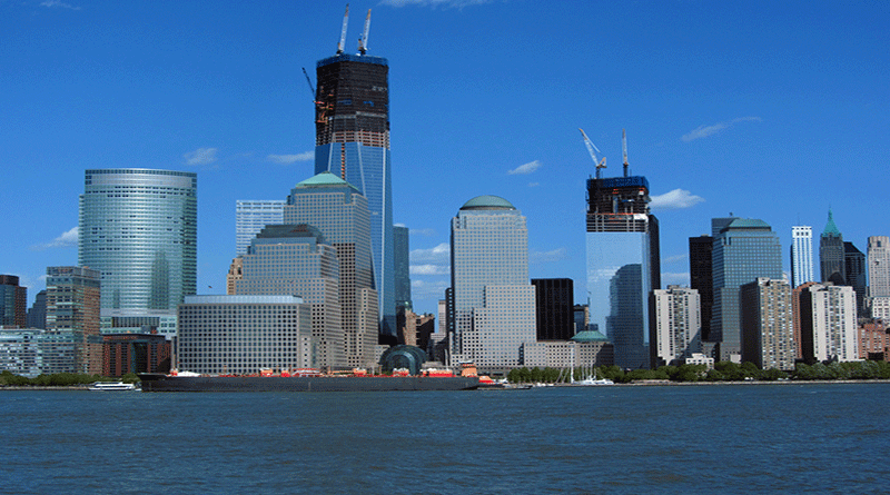 Towers Rise in Journal Square