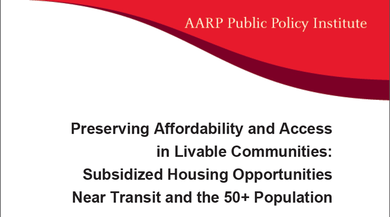 Preserving Affordability and Access in Livable Communities