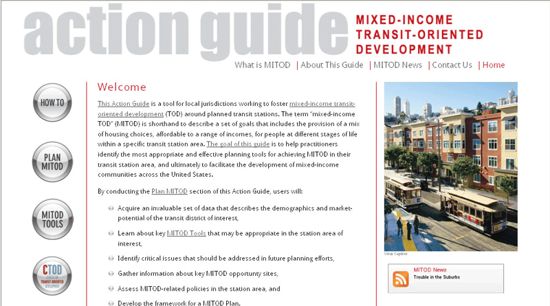 Mixed-Income Transit-Oriented Development Action Guide
