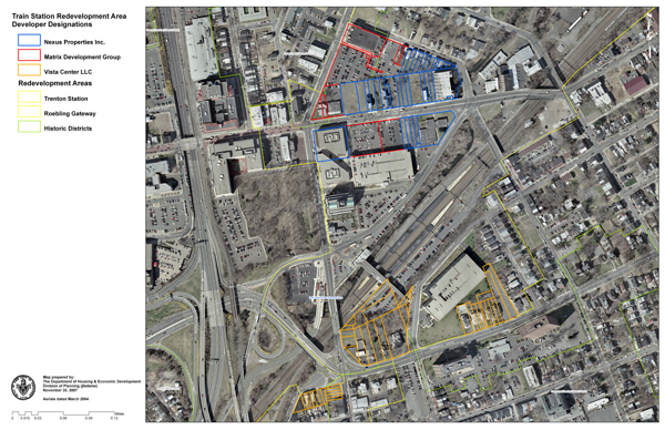 Trenton Station Redevelopment Area