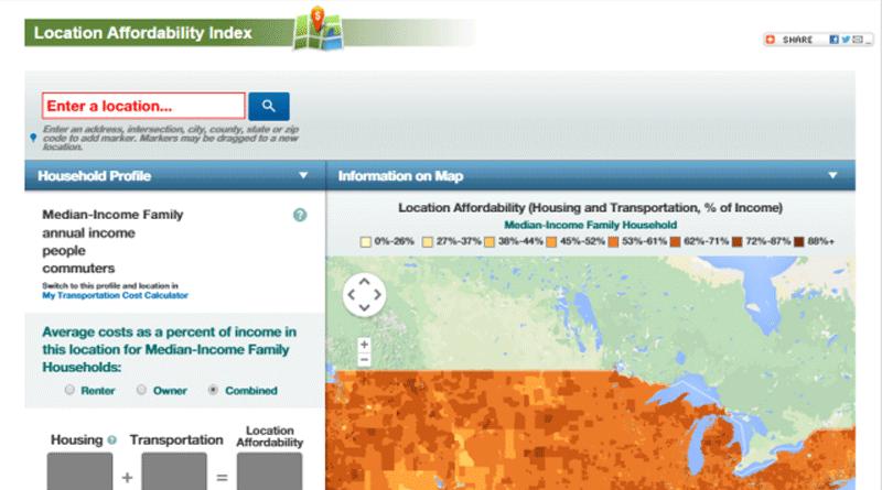 Location Affordability Portal