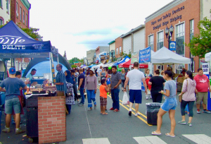 Annual RiverFest Art & Music Fair highlights the community's diversity and new business arrivals. Photo source: Bound Book Revitalization Partnership