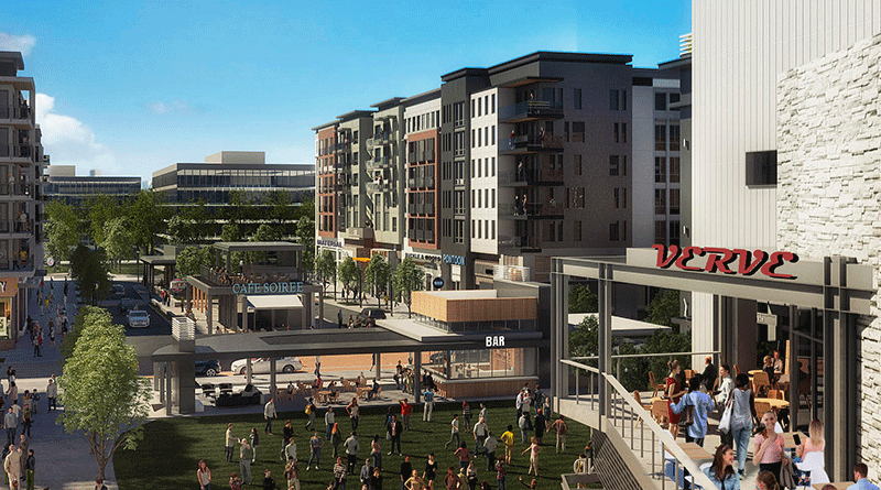 Rendering of the High Street development. Source: High Street Atlanta website.