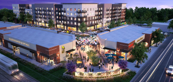 A rendering of Parkside @ City Centre, a TOD development in Aurora, CO. Courtesy of Summit Capital Venture Group.