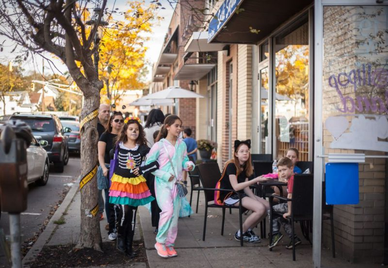 Ghouls and goblins take over the streets during Metuchen's Haunted Downtown Event. Photo Credit: Lauren Beischer Photography