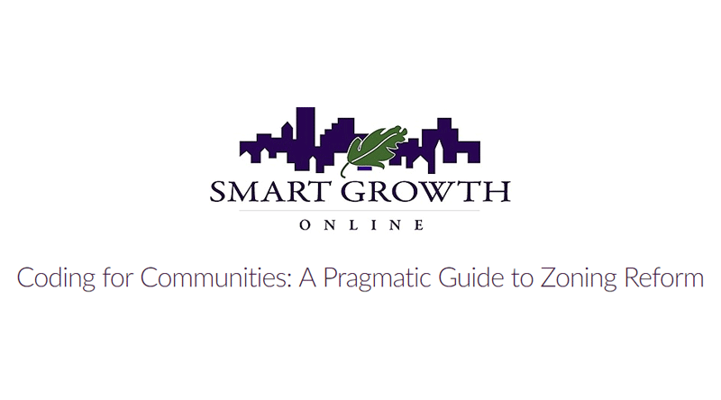 Webinar: Coding for Communities: A Pragmatic Guide to Zoning Reform