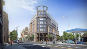 A rendering of the MC Hotel in Montclair. Courtesy of The Pinnacle Companies.