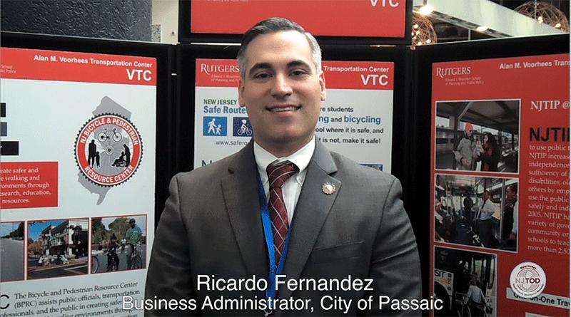 Ricardo Fernandez Joins the NJTOD Video Series