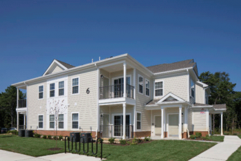 Affordable housing community in Delanco, NJ. Image courtesy of the Walters Group