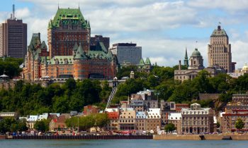 A view of Quebec City. Image by user 1979stl, licensed under the Public Domain.