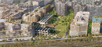 "Rendering of the ""Ecosystem Neighborhood"" project. Image courtesy of SLA."