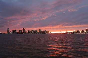 The view of Jersey City from Manhattan, NY. Image by user Jim.henderson, licensed by CC0 1.0.