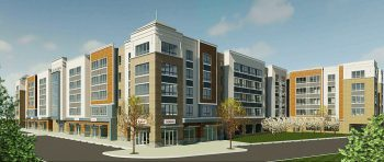 Rendering of 10 Green Street in Woodbridge. Courtesy of Prism Capital Partners.
