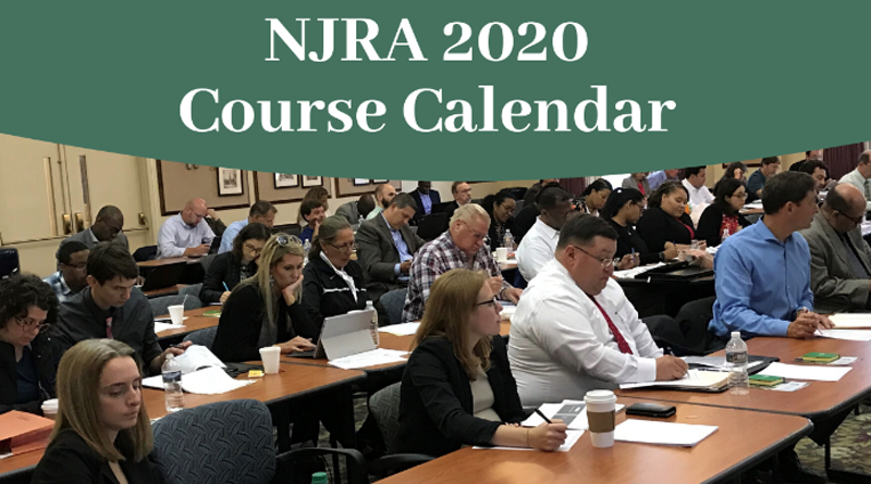 NJRA-RTI 2020 Courses