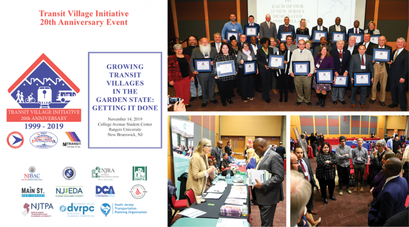 Celebrating 20 Years of the NJ Transit Village Initiative