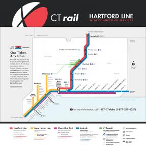 CT Rail Map
