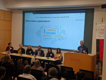 Stuart Koperweis and our panel of placemaking experts discussed what makes a great place.