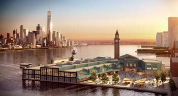 Rendering of the Hoboken Rail Yard Redevelopment Plan. Source: City of Hoboken.