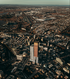 New Jersey by helicopter. Photo by Gerard Lázaro on Unsplash