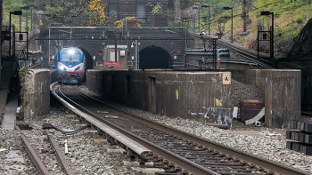 Hudson River Tunnel-West Portal. Photo courtesy of Amtrak.