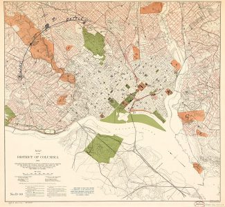 By Langdon, James G.; United States. Congress. Senate. Committee On The District of Columbia. Sub-Committee on The Improvement Of The Park System; District Of Columbia. Public Domain.