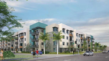 Rendering of Manchester-Orangewood by Jamboree Housing Corporation