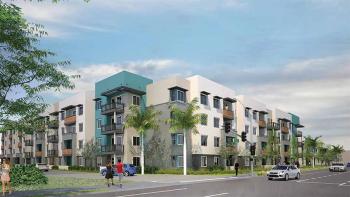 Rendering of Manchester-Orangewood by Jamboree Housing Corporation