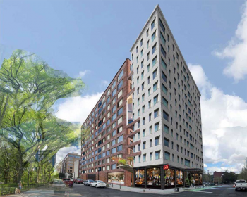 Rendering of One Grove. Courtesy of Strategic Capital via the Jersey City Redevelopment Agency.