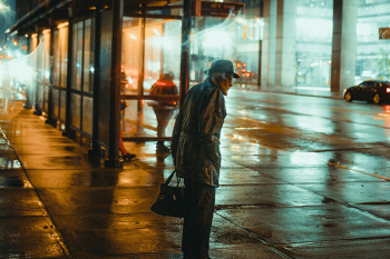 A Metro bus station in Minneapolis by Josh Hild on Unsplash