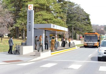 ORBT bus station courtesy of Omaha Metro