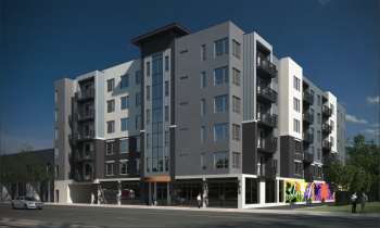 Central Station Apartments rendering courtesy of Salt Lake City Planning Division