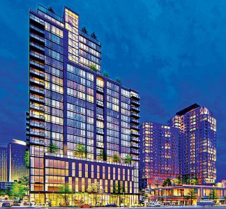 Rendering of redevelopment project near McLean Metro Station. Source: Cityline Partners LLC.