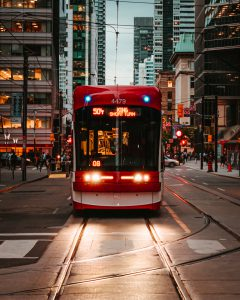 Photo of a street car in Toronto by Aditya Chinchure on Unsplash