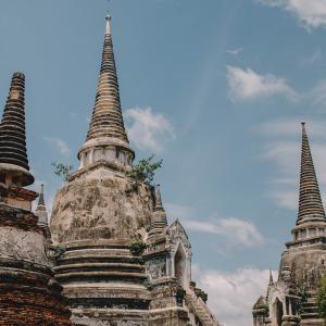 Ayutthaya, Thailand. Photo by Ohm Kittipong on Unsplash