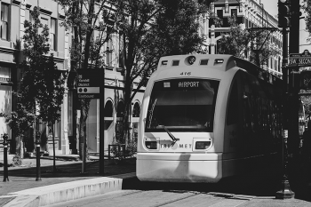 MAX Light Rail in Portland by Sean Benesh on Unsplash