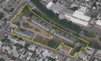 The future site of Manhattan Transit Village in North Bergen. Courtesy: Procida Funding