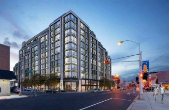 Rendering of 281-289 Broadway. Courtesy of Melamed Architect