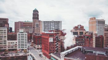 Downtown Detroit, Michigan. Photo by Doug Zuba on Unsplash