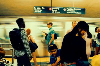 New York City subway. Photo by Isai Ramos on Unsplash