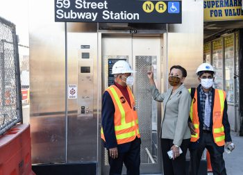 59 St Elevators. Marc A. Hermann / MTA New York City Transit. CC BY 2.0