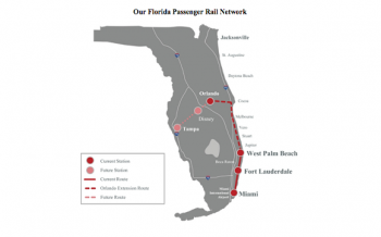 Planned Brightline routes