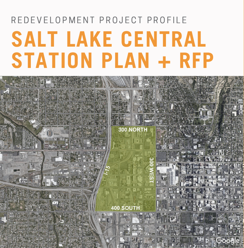 Depot District, Salt Lake City, Utah. Courtesy of Salt Lake City Redevelopment Agency