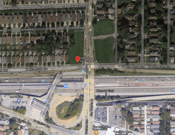 The location of the vacant land for the proposed redevelopment. Image: Google Maps