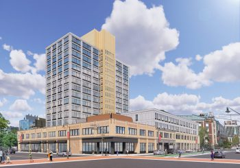 Rendering of the Urby, Newark, New Jersey