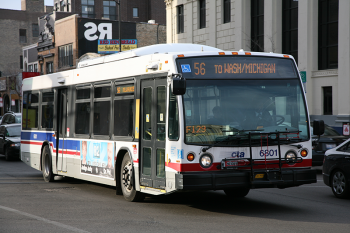 CTA bus line 56. Photo by Daniel Schwen - Own work, CC BY-SA 4.0