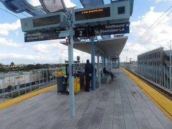 The development will be next to the La Cienega/Jefferson light rail station in Los Angeles (Adam Moss/CC BY-SA 2.0)