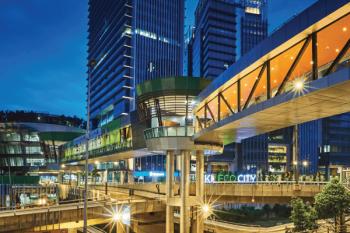 Kuala Lumpur Eco City. Courtesy of Setia